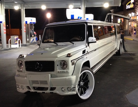 G Wagon Limo in LA