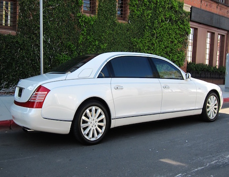 Maybach Rental in LA