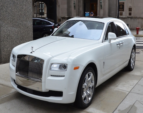 Rolls Royce Ghost Rental in LA