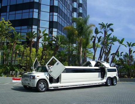 los angeles hummer limousine rental