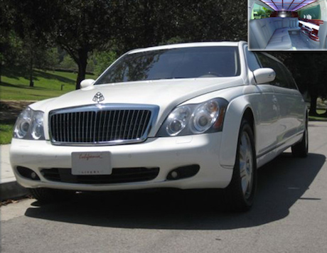 maybach limousine rental los angeles