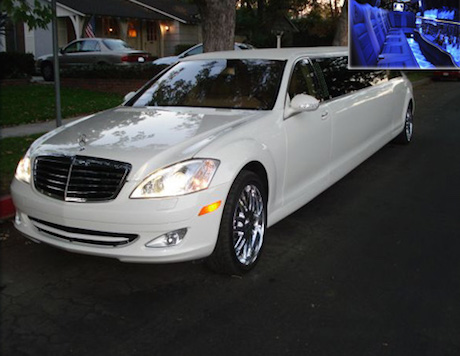 mercedes s550 limousine rental los angeles