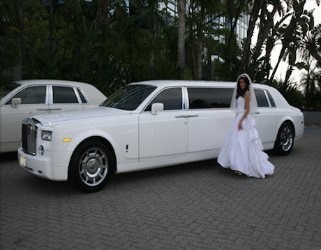 rolls royce phantom limousine rental los angeles