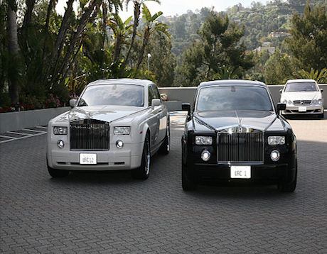 rolls royce rental los angeles