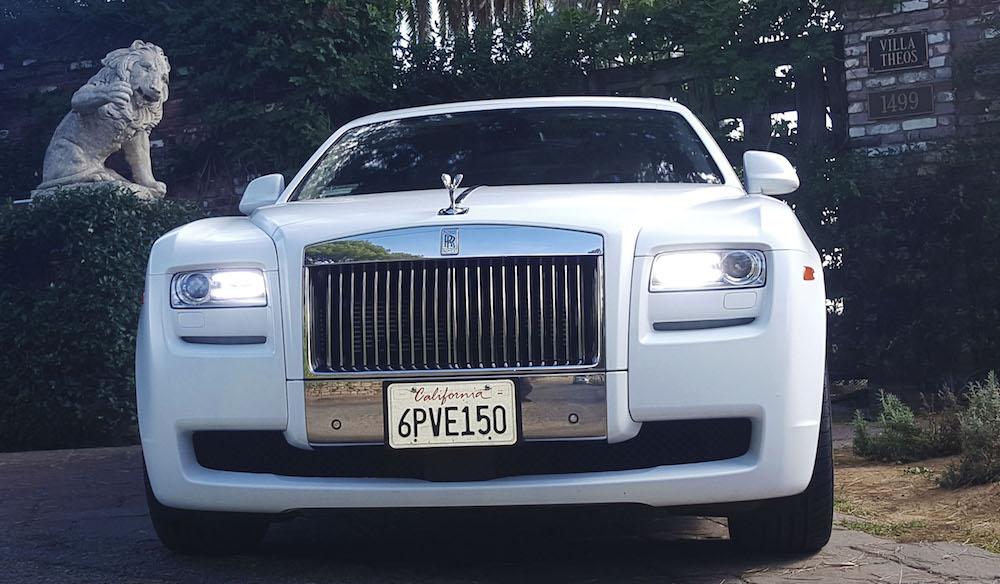 Rolls Royce Ghost Rental in Los Angeles